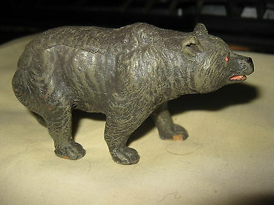 Elastolin circa 1950s Composition BEAR Figurine Germany