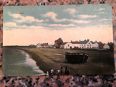 Vintage Allonby Postcard     REAL PHOTO