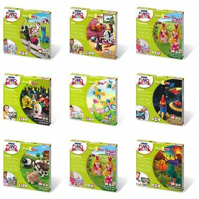 Fimo Kids Form + Play Set - Boxed Fun Multicolour Clay Craft Kits - FULL RANGE