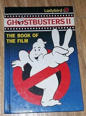 Ladybird Book - Book of the Film - Ghostbusters II