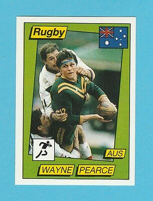 Rugby - Panini - Supersport Rugby Sticker No. 131  -  Wayne  Pearce  - 1986