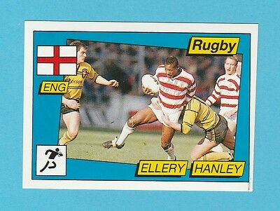 Rugby - Panini - Supersport Rugby Sticker No. 132  -  Ellery  Hanley  - 1986