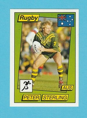 Rugby - Panini - Supersport Rugby Sticker No. 134  -  Peter  Sterling  - 1986