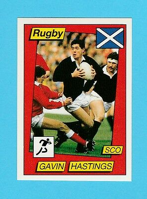 Rugby - Panini - Supersport Rugby Sticker No. 137 -  Gavin  Hastings  - 1986