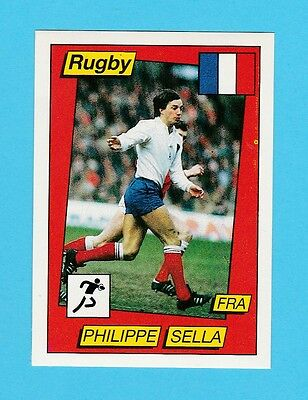 Rugby - Panini - Supersport Rugby Sticker No. 139 -  Philippe  Sella  - 1986
