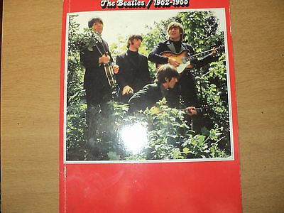 The Beatles  1962/1966  Music and lyric  book