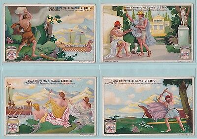 Liebig Cards - The Odyssey (S1197/F1197) - Complete Set