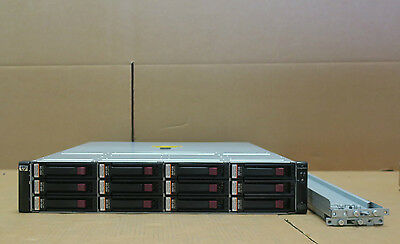 HP StorageWorks EVA4400 4.5TB Storage Array AG638B 6 x 450Gb 6 x 300GB Drives