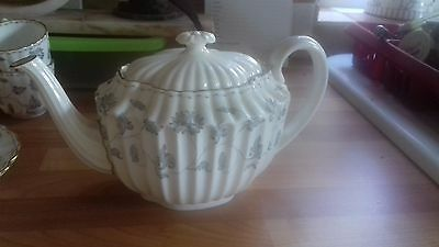 SPODE COPELAND CHINA Teapot  - COLONEL  (GREY)