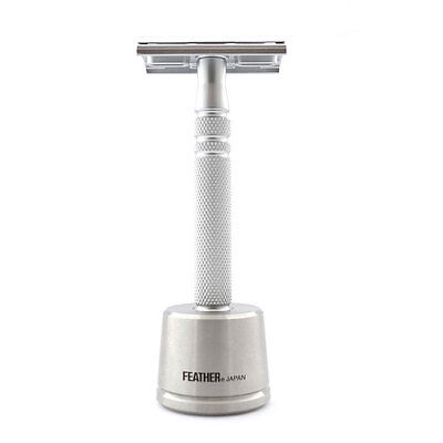 Feather AS-D2S All Stainless Steel Double Edge Razor