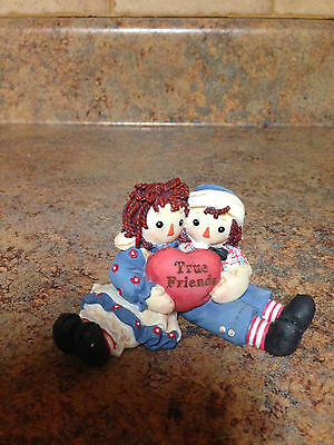 Enesco Raggedy Ann & Andy True Friends Collectible Figurine 801267