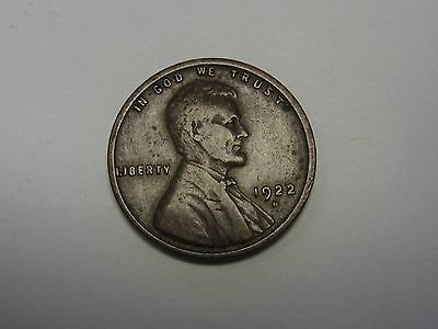 1922-D Lincoln Wheat Cent in the GOOD Range       DUTCH AUCTION