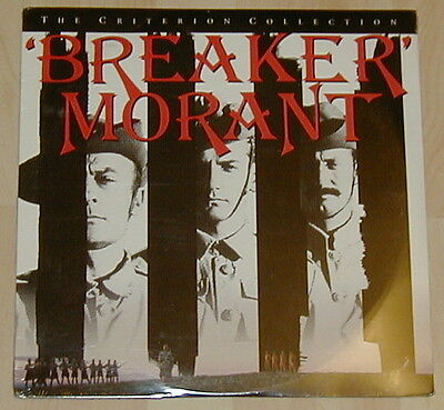 Breaker Morant Wide  Screen Ntsc Laserdisc From The Criterion Collection