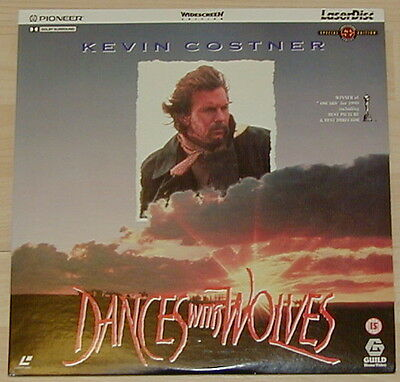 Dances With Wolves   Widescreen Edition Pal Laserdisc Special Edition