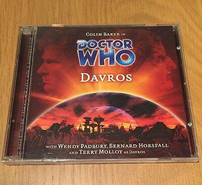 DR DOCTOR WHO - Davros - BIG FINISH #48 CD Excellent