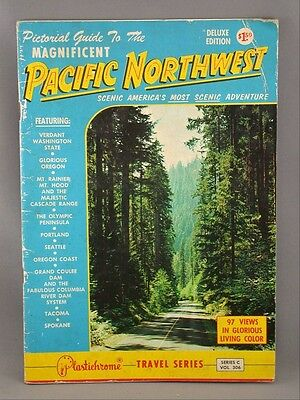 Pacific Northwest Seattle Oregon Portand Travel Guide 97 Views Series C  Book