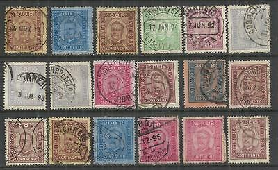 (W103) Portugal – 1892-94 Used Selection