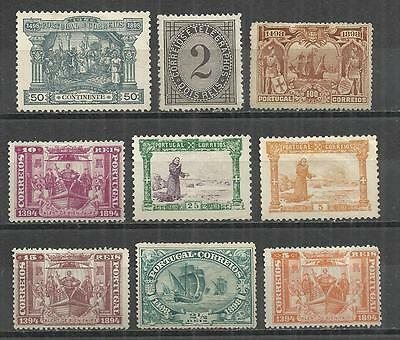 (W105) Portugal – 1890s Unused & Used Selection