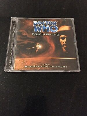 DR DOCTOR WHO - Dust Breeding - BIG FINISH #21 CD Excellent