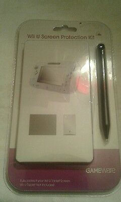 Wii U Screen Protection Kit Gameware. New and Sealed