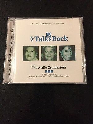Big Finish Talks Back - The Audio Companions Doctor Who CD