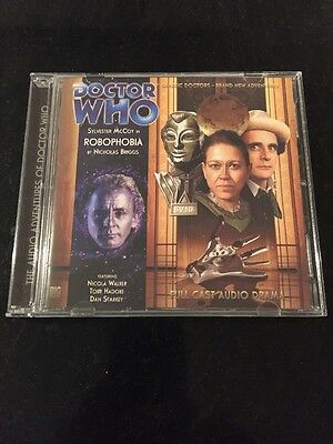 DR DOCTOR WHO - Robophobia - BIG FINISH #149 CD Excellent