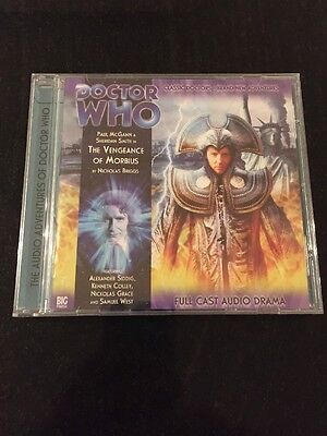 DR DOCTOR WHO - Vengeance Of Morbius - BIG FINISH #2.8 CD Excellent NEW