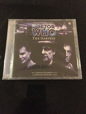 DR DOCTOR WHO - The Harvest - BIG FINISH #58 CD Excellent NEW McCoy