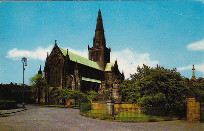 Glasgow, Scotland - The Cathedral - Posted 1970