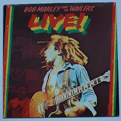 Bob Marley & The Wailers Live Vinyl LP Record