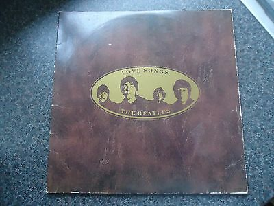 The Beatles Uk Parlophone Double Lp 1977 Love Songs Strong Ex Audio