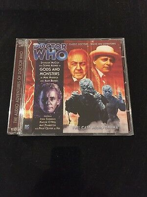 DR DOCTOR WHO - Gods And Monsters - BIG FINISH #164 CD Excellent NEW McCoy
