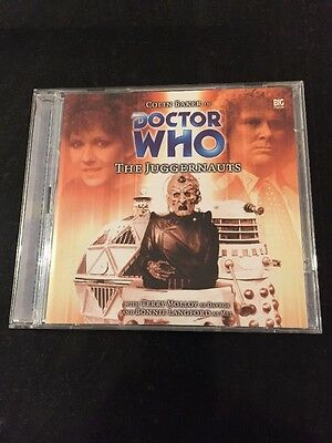 DR DOCTOR WHO - The Juggernauts - BIG FINISH #65 CD Excellent Colin Baker