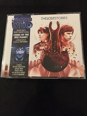 DR DOCTOR WHO - Lords Of The Red Planet BIG FINISH #4.3 CD Excellent Troughton
