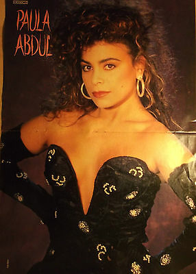 1 german poster PAULA ABDUL N. SHIRTLESS LATINO SINGER BOY BAND GIRL BOYS GROUP