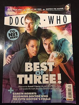 Dr Doctor Who Magazine #386 Series 3 Captain Jack Cover