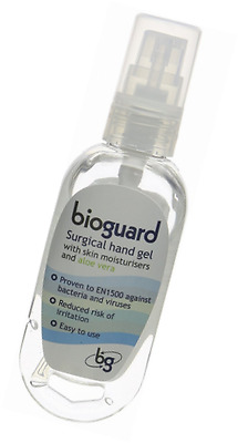 Bioguard Surgical Hand Gel with Clip and Reel