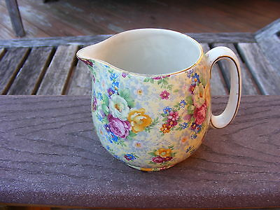 Stunning Lord Nelson Ware Rose Time Chintz Jug/pitcher Lord Nelson Ware Old Nr