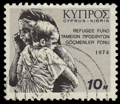 "CYPRUS RA2 (SG435) - Refugee Relief ""Tax"" (pf81910)"