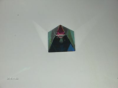 Prism Laser Pyramid - Holographic Guardian Angel 50mm Boxed