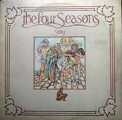 FOUR SEASONS STORY 2XLPs Textured G/F Sleeve Private Stock DAPS 1001 EX