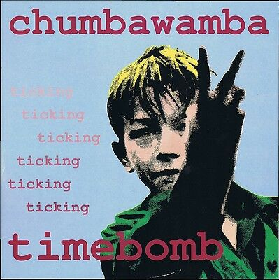 """Chumbawamba - Ticking Timebomb 12"""" vinyl single MINT with A2 poster + A3 insert"""