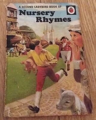 Ladybird Book - A Second Book of Nursery Rhymes - Series 413