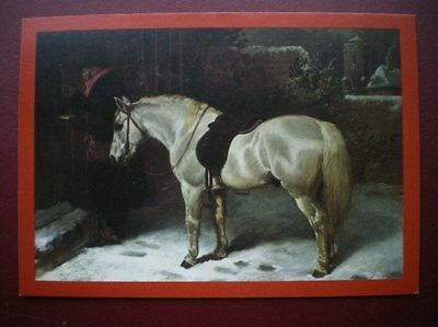 Postcard Royal Mail The Postman - J F Herring - Oil On Canvas Shows Mounted Rura