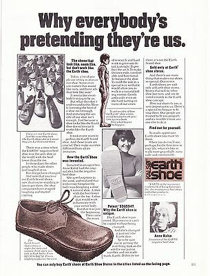 Original Print Ad-1975 KALSO EARTH SHOE-Why everybody's pretending they're us.