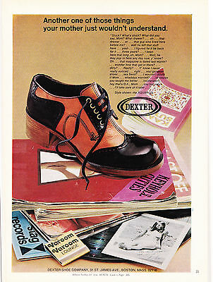 Original Print Ad-1973 DEXTER SHOE COMPANY-Your Mother Just Wouldn't Understand