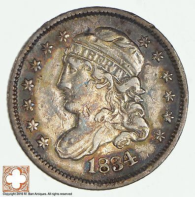 1834 Capped Bust Half Dime *1925