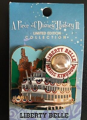 Disney Pin Piece Of Disney History Series Ii Liberty Belle River Boat