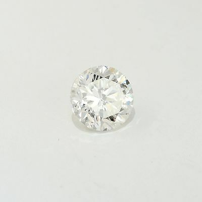 Round Loose Natural Diamond 0.40 CT E VS2 for Engagement Ring Certified Enhanced