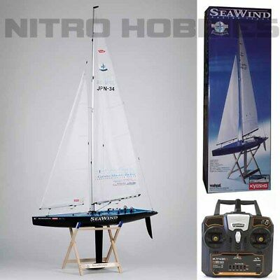 Kyosho 40463SB Seawind Carbon Edition RTR Racing Yacht / Sailboat / 431S / Stand
